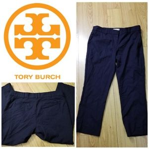 TORY BURCH Navy Blue Career Ankle Pants- SIZE 8